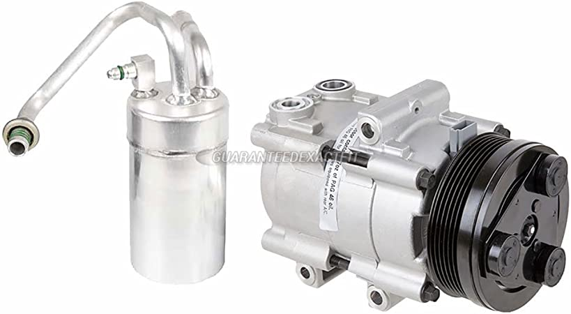 BuyAutoParts 60-86243R2 NEW For Ford Mustang 1996-2004 AC Compressor w//A//C Drier