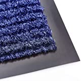 Sierra Concepts 2-Pack Front Door Mat Ribbed Blue