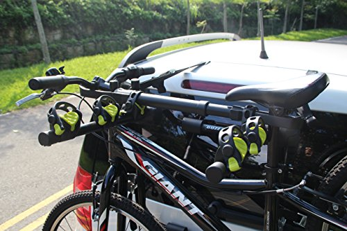 BUZZ RACK GRIP Deluxe Black Bike Top Frame Cross Bar Telescopic Adaptor