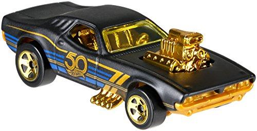 Hot Wheels 50th Anniversary Black & Gold 6 Car Set 2018