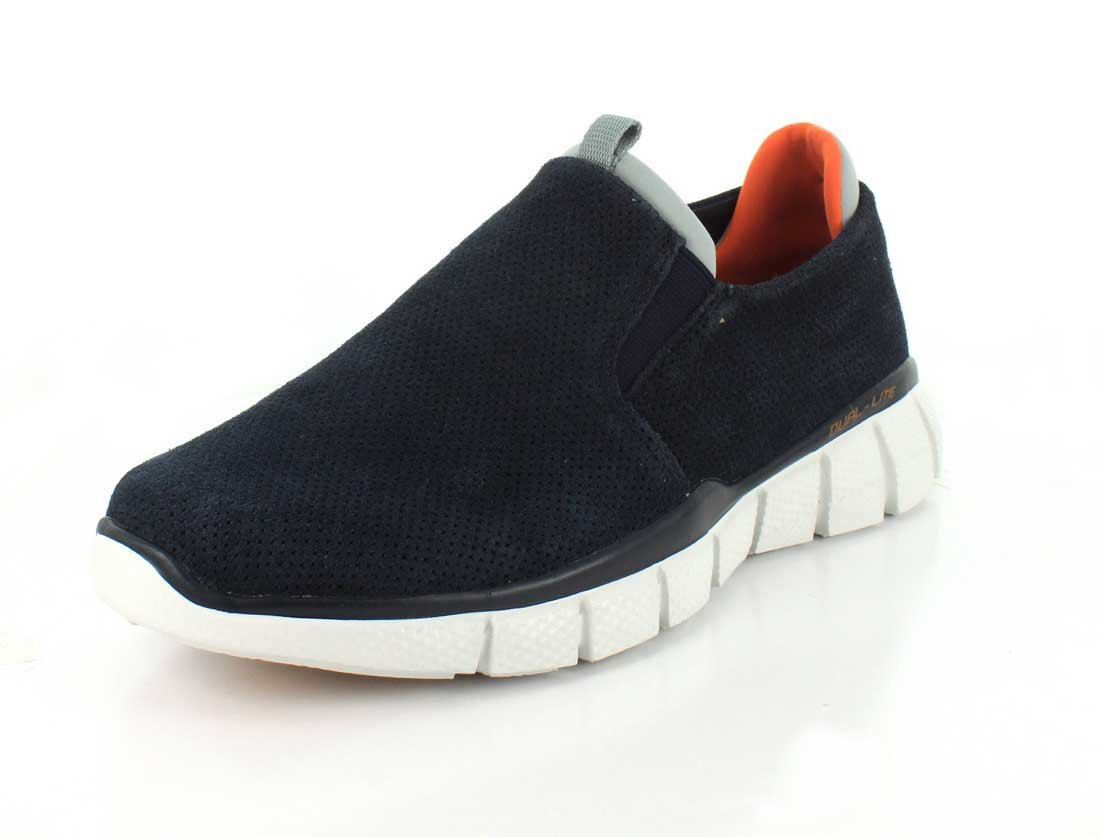 Skechers 51545 Herren Slipper  42 EU|Navy