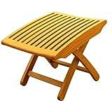 Cheap International Caravan Royal Tahiti Wood Patio Chair Foot Rest