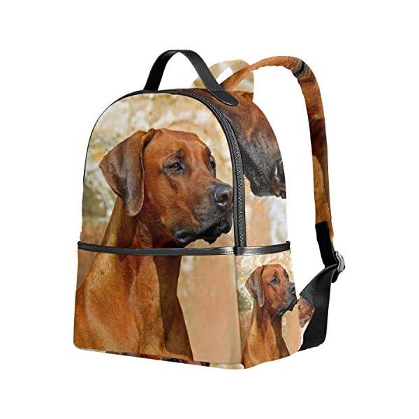 Rhodesian Ridgeback Dog Zaino per donne adolescenti ragazze borsa alla moda borsa per bambini viaggio college casual… 2 spesavip