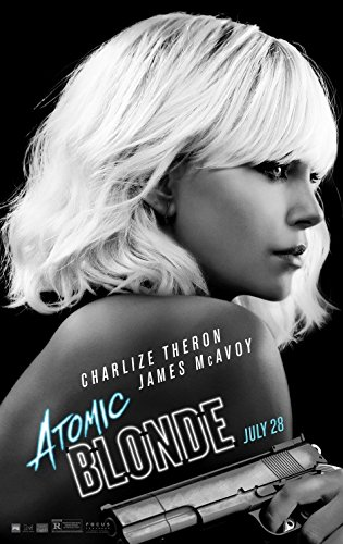 ATOMIC BLONDE (2017) Original Authentic Movie Poster 27x40 - Dbl-Sided - Charlize Theron - Sofia Boutella - James McAvoy