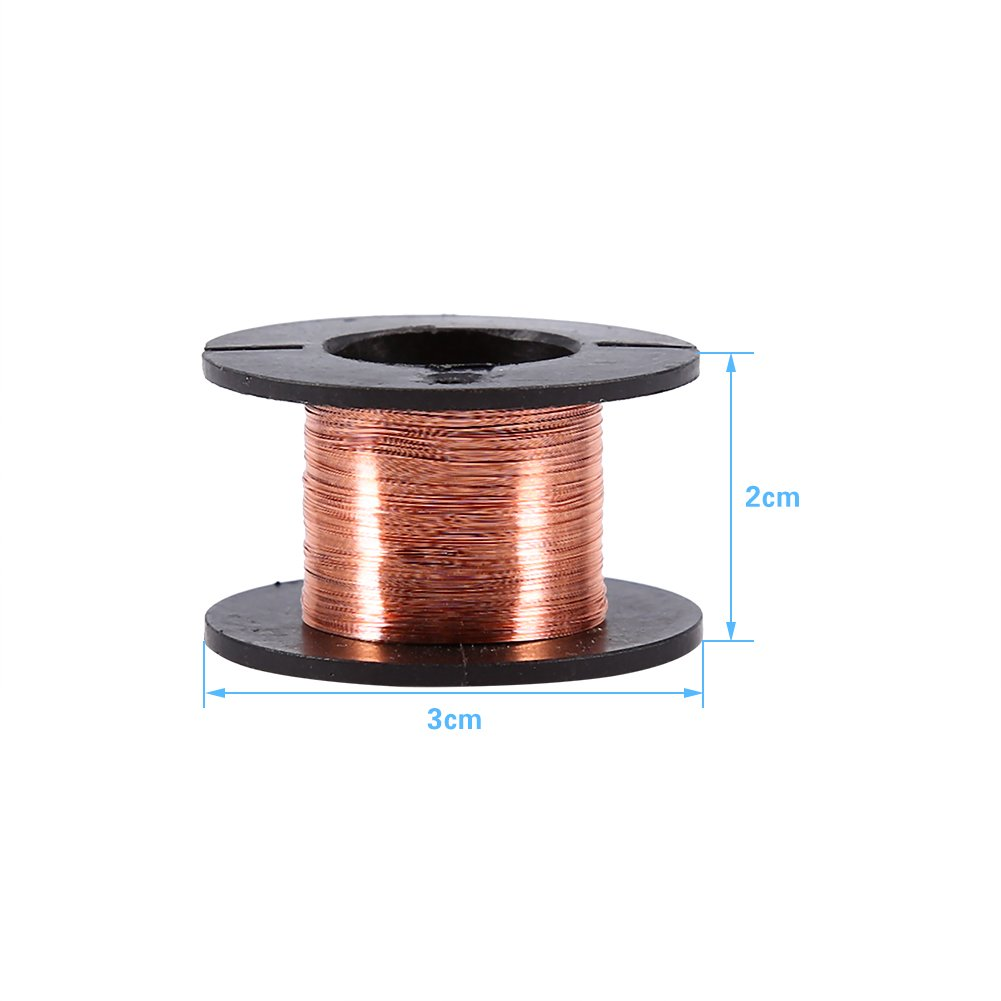 5pcs Enameled Copper Wire Magnet Winding Wire 0.1mm Thickness 15m ...