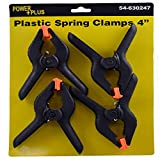 (Pack of 36, 144 Ct) Power Plus Spring Clamp Plastic, 4in 4Pack