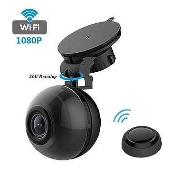 Coche Dash Cam Mini 1080P Cámara Grabadora De Vídeo Para Coches 360 ° Cámara Giratoria G