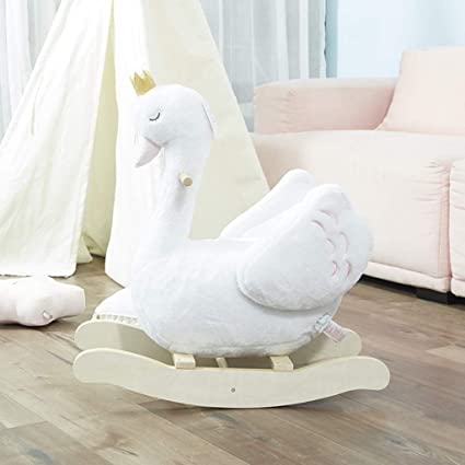 Marvelous Amazon Com Rxy Rocking Chair Children Rocking Horse White Ncnpc Chair Design For Home Ncnpcorg