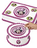 Wilton 71-6362 Minnie Mouse Edible Images Cake Decorating Kit, Multicolor
