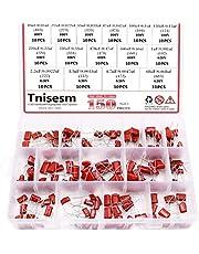 Tnisesm 150 Pcs 15 Value CBB Metallized Polypropylene Film Capacitors Assortment Kit 10nF ~ 68nF / 0.01uF ~ 0.068uF 400V and 630V in a Box Tn-20-3