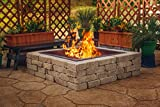 Pleasant Hearth OFW421FR Square Solid Steel Fire