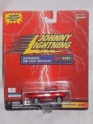 Johnny Lightning KB Toys Exclusive 1969 Pontiac Firebird rot by Playing Mantis
