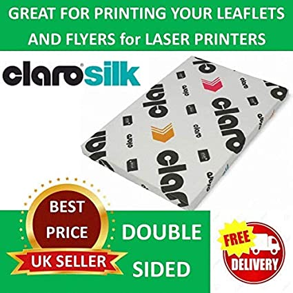 by GARDA 500 Sheets A4 170 gsm Glossy Laser 2 Sided Printer Paper