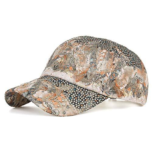 Sombrero del hat qin Flor B Sol la señoras béisbol del a del Sombreros Sombrero Sombrero GLLH Forme Casquillo A el de de Caliente del Sombrero Visera Las de perforación Sombrero IxZw1ndq