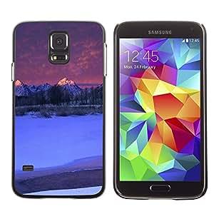 Caucho caso de Shell duro de la cubierta de accesorios de protección BY RAYDREAMMM - Samsung Galaxy S5 SM-G900 - Nature Beautiful Forrest Green 142