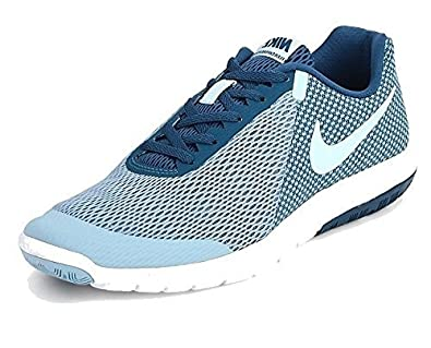 88835ac210e Image Unavailable. Image not available for. Colour  Nike Flex Experience  Men s Blue Running Shoes ...