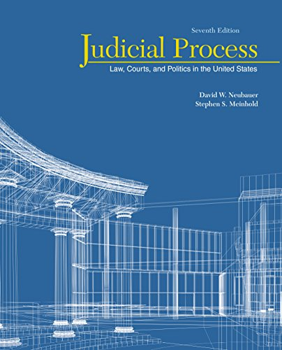 Judicial Process: Law, Courts, and Politics in the United States 7th  Edition - Ebook PDF Version