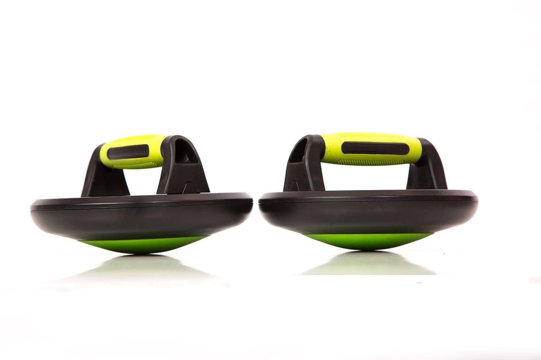 プッシュアップバーwith Rounded Bottoms by PP Fitness – ノンスリップゴムグリップ最大の快適 – アッパーボディ&腕を強化 – 調節可能、軽量で簡単に組み立て – Ideal Forメンズ&レディース   B01FNQ0BAY