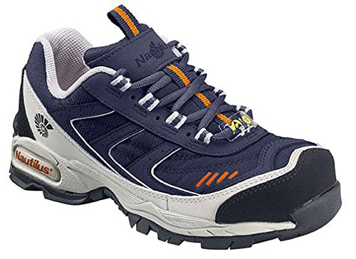 Nautilus Steel Toe Athletic Shoe (Nautilus Men's Steel Toe Athletic Sneakers,Blue,14 XXW)