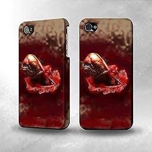 Apple iPhone 4 / 4S Case - The Best 3D Full Wrap iPhone Case - Alien Stomach Scene Full Wrap