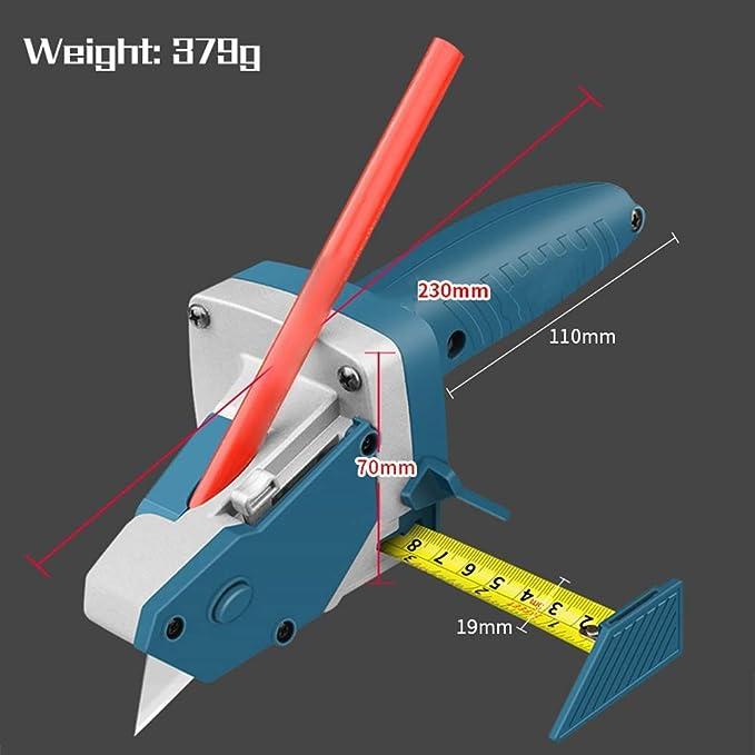 cinta m/étrica dibujo lineal Ezeruier Artefacto de corte de placa de yeso br/újula. herramienta de corte especial herramienta de carpinter/ía multifunci/ón herramienta de corte cortador r/ápido