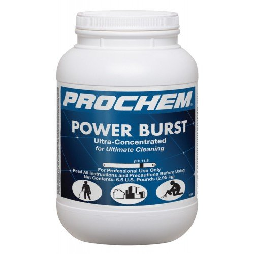 rochem - Power Burst - High pH Enzyme Prespray - Carpet Cleaning Pre-Conditioner - Powder - 1 case/4 Tubs - S789