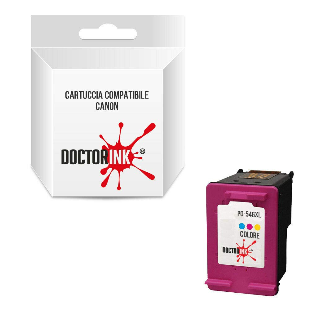 Canon CL-546 XL Cartucho compatible Inkjet Color para ...