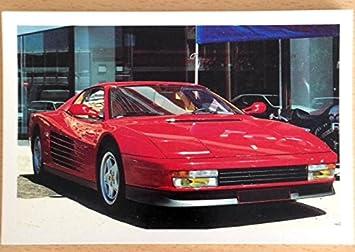 Ferrari Testa Rossa 10 X 15 Cm Postkarte Amazon De Küche Haushalt