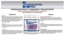 L-Arginine Pro - 5,500 mg of L-Arginine PLUS 1,100 mg of L-Citrulline Promote cardio-vascular health, Blood Pressure (BP), heart health, cholesterol, muscle fitness & strength, energy, sleep, blood flow, erectile/erection & sexual function male & female s