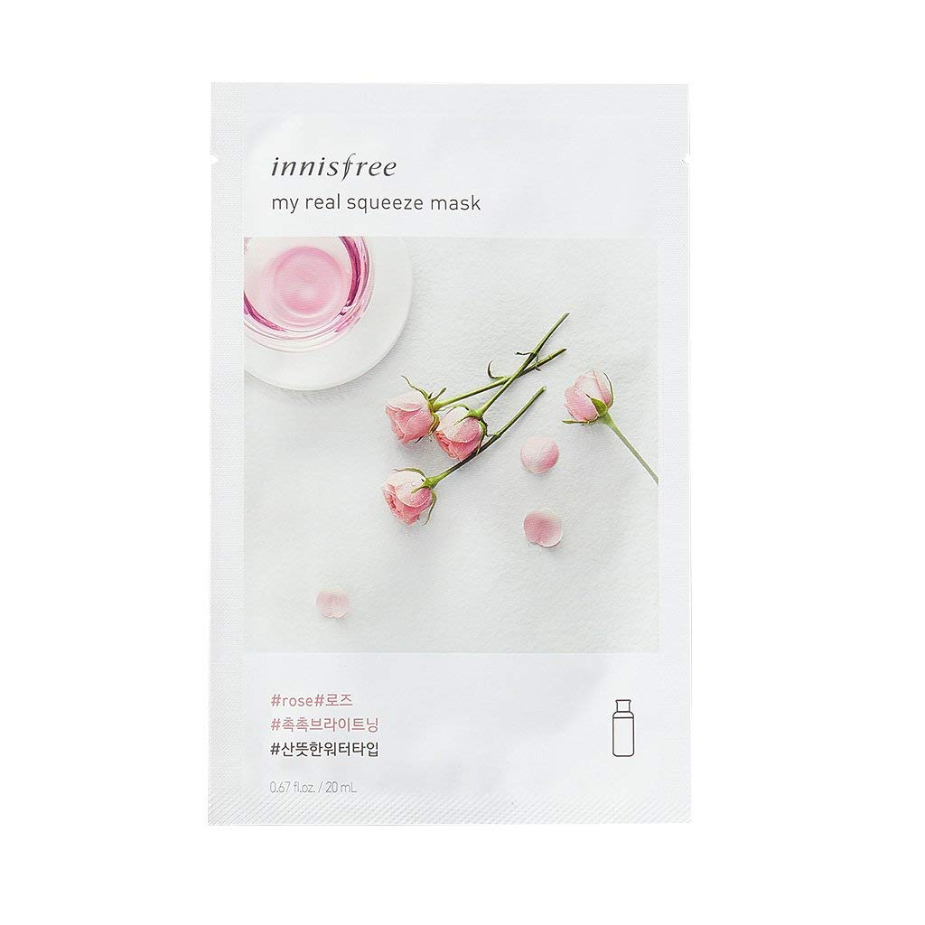 2017 New Innisfree My Real Squeeze Mask Sheets -18 Pattern of Flavour