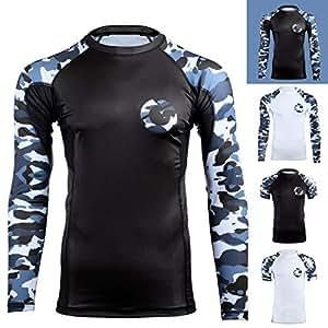 Sabertooth BJJ Rash Guard Long Sleeve