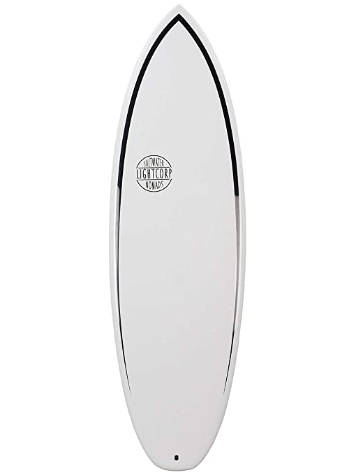 Light river2.0 White de epoxy de Future Tabla de Surf, Unisex, River2