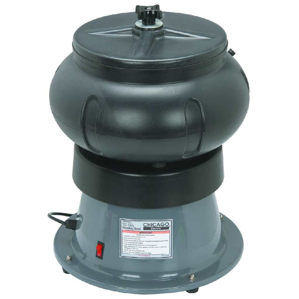 18 Lbs. Vibratory Tumbler Bowl with Liquid Drain Hose
