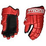 TronX Team LS Hockey Gloves (13 Inch Red)