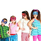 24 PCS Superhero Party Masks,Tmnt Cartoon Mask,Superhero Birthday Party Supplies,Cosplay Toy for Children or Boys Aged 3+