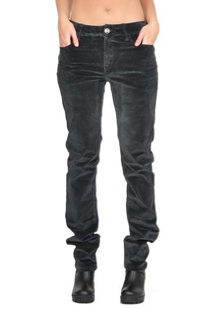 4cd319264f0 Slim Skinny Stretchy Cords - Dark Green (14)  Amazon.co.uk  Clothing