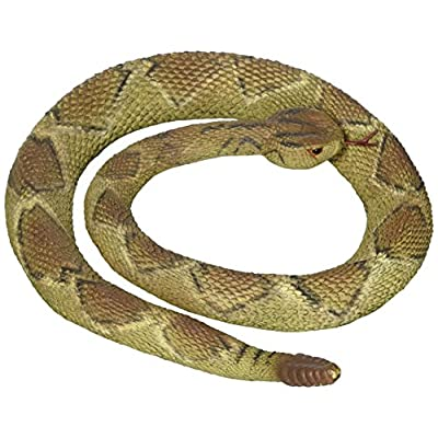 Rubber Replica Diamondback Rattlesnake Snake 36 Inch Reptile by Phil Seltzer: Toys & Games