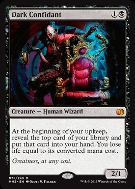 Magic: the Gathering - Dark Confidant - Modern Masters 2015 - Foil