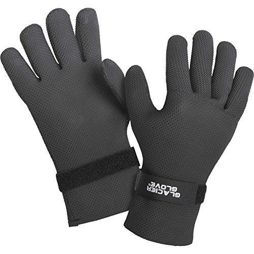 Glacier Glove Kenai Waterproof Glove, Black, Small