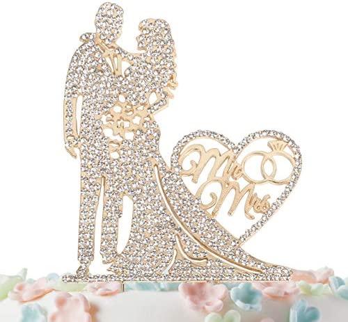 Topper Rhinestone Crystal Metal Wedding product image