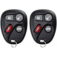 KeylessOption Keyless Entry Remote Control Car Key Fob Replacement for L2C0005T, 16263074-99 (Pack of 2)