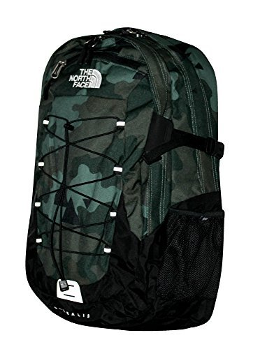 (The North Face Men Classic Borealis Backpack Student School Bag OLIVE CAMO)