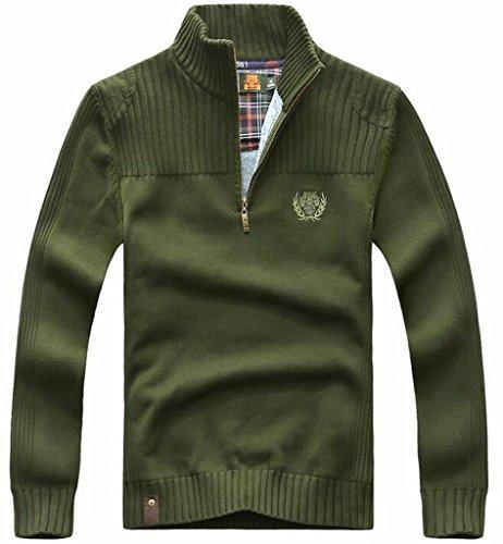 Fleece Army Pullover - 4