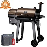 Z Grills ZPG-450A 2018 Upgrade Model, Wood Pellet Smoker, 7 in 1 BBQ
