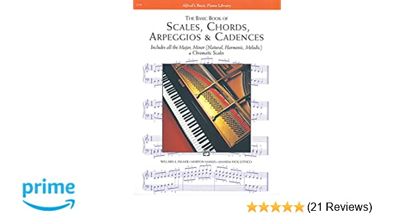 Scales Chords Arpeggios And Cadences Basic Book Alfreds Basic