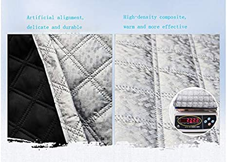 XYSM Car Windshield Cover Sun Shade UV Cover Protector Ultra Thick Windscreen Cover Snow Ice Frost Sun UV Dust Water Resistent Pefect Fit for 97/% Cars SUVS Summer//Winter