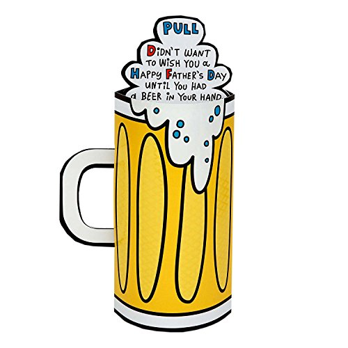 Hallmark Funny Father's Day Greeting Card (Pop-Up Beer Stein) Photo #5