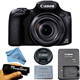 Canon PowerShot SX60 HS 16.1MP Digital Camera with 65x Optical Zoom and Built-in WiFi/NFC (Cloth Only)