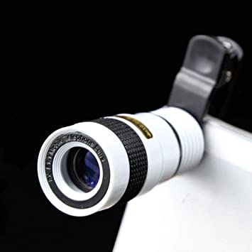 FGUL - Objetivo para teléfono móvil (Zoom 8X, para iPhone, Samsung ...