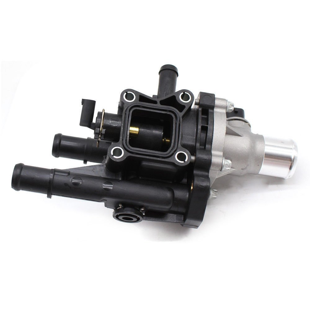 Eapmic Engine Coolant Thermostat Housing For 2009 2011 Chevy Aveo Pontiac Aveo5 G3 Wave